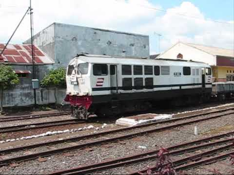 Kereta Api Indonesian railways and the museam at Ambarawa Java