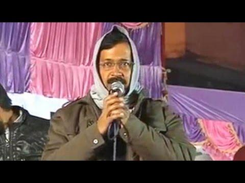 Turned down for debate, Arvind Kejriwal takes on Kiran Bedi in her constituency
