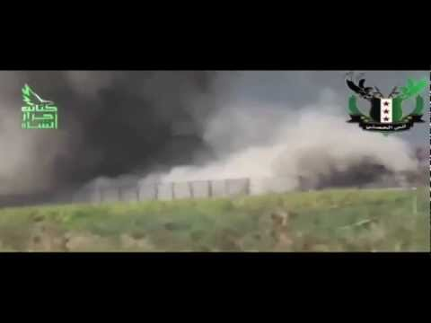 Syrian Civil War - Footage Compilation - 2012