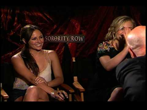 Briana Evigan and Leah Pipes interview for Sorority Row
