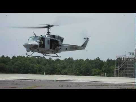 MWSS-271 Marines refuel, rearm HMLA-467 UH-1N Hueys during Exercise Mailed Fist. Video by Staff Sgt. Roman Yurek   2nd Marine Aircraft Wing & Marine Corps Air Station Cherry Point   Date:...