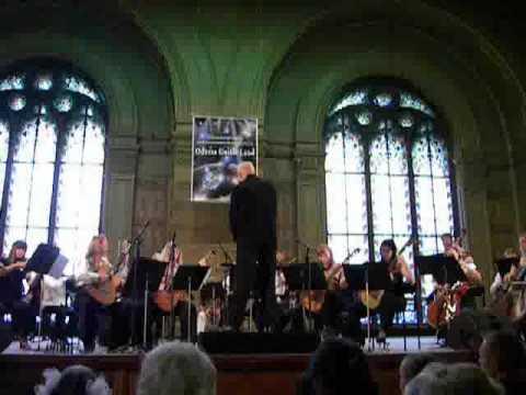 Nikita Koshkin. Concertino for five guitars and orchestra - II movement