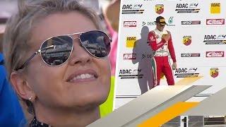 Corinna Schumacher stolz auf Sohn Mick | ADAC Formel 4