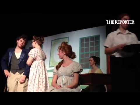 Lansdale Catholic high school has a dress rehearsal of their fall play Pride and Prejudice on Wednes - 11/06/2014