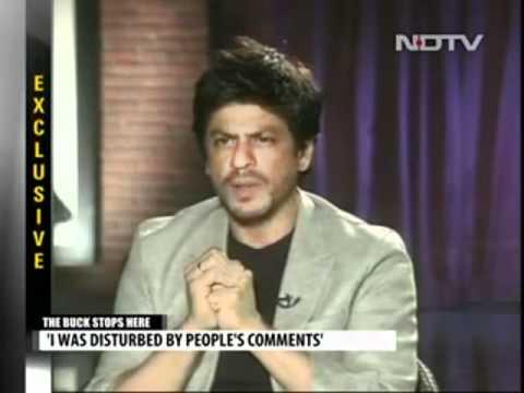 Shah Rukh Khan: Interview with Barkha Dutt on NDTV 31.05.2012