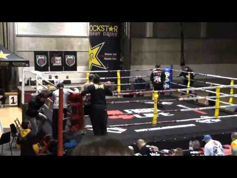 Almogavers AMATEUR 2011 Final -65kg. M.Ruiz ( MMA BCN TEAM) Vs. A.Marin ( SASORI team)