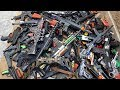 Hundreds Toy Guns and Rifles! Toy Weapons Beaded Pistols Capsule Detonator Revolvers