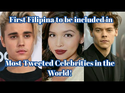 Maine Mendoza, Kahilera na ang mga Hollywood Stars sa Most Tweeted Celebrities in the World!