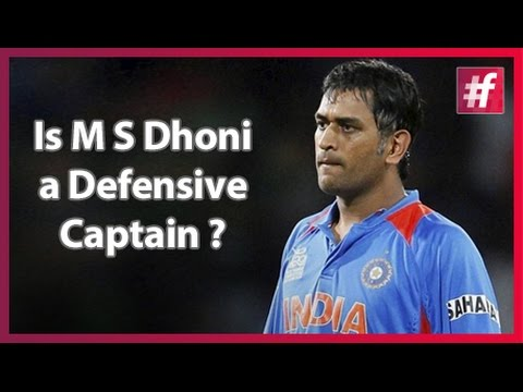 Is M S Dhoni a Defensive  Captain? : Harsha Bhogle
