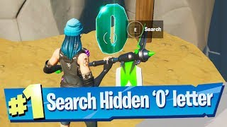 Search hidden 'O' found in the New World Loading Screen - Fortnite Battle Royale