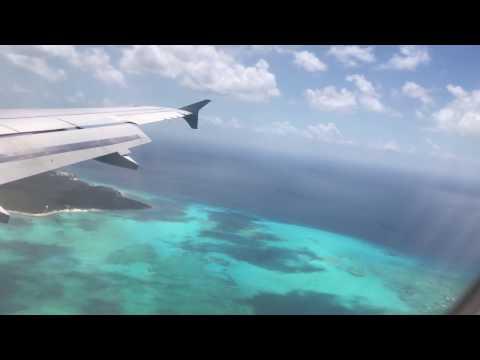 American Airlines - Landing In Nassau Bahamas