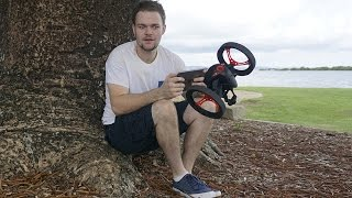 Parrot Jumping Sumo: Mini Drone Product Review | DansTube.TV