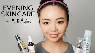ANTI-AGING EVENING SKINCARE ROUTINE | Curology, drugstore | No Nonsense Skincare for 30+ | LvL