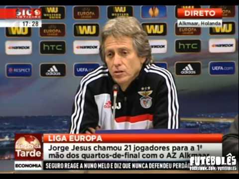 Jorge Jesus responde a Bruno de Carvalho