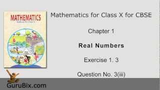 Ex 1.3: Q.3(iii) : Prove that sum of 6 and square root of 2... Ch 1 | Class Xth Math for CBSE