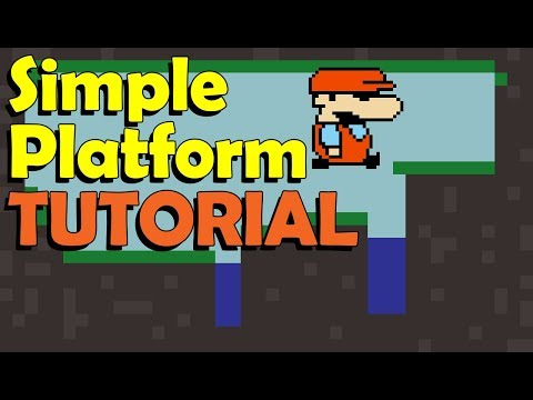 Gdevelop 5 Tutorial: how to make a simple platform game ( FREE Game Engine)