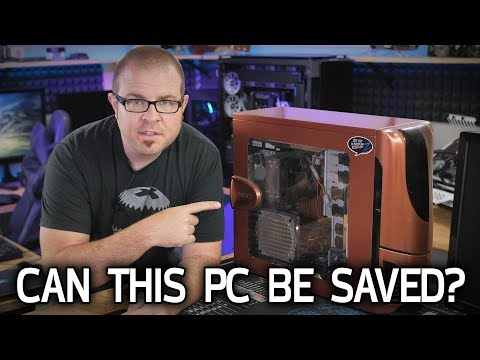 Attempting Repairs on a 10-Year-Old PC...