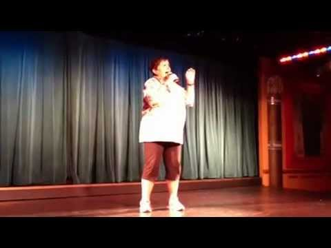 My stand up routine on the Sapphire Princess