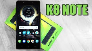 Lenovo K8 Note (Dual Cam | 10 Core | Stock Android) - Unboxing & Hands On!