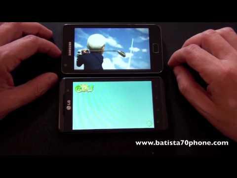 LG Optimus 3D vs Samsung Galaxy S2 by batista70phone