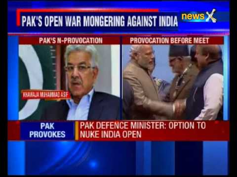 If needed, we can use nuclear weapons: Pak Defence Minister Khawaja Asif