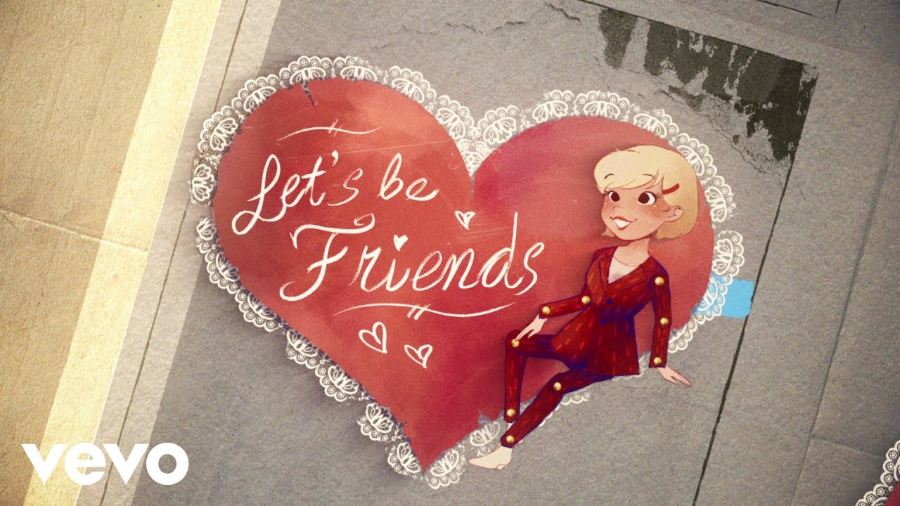 "Carly Rae Jepsen - デジタルシングル""Let's Be Friends""のOfficial Lyric Videoを公開 2020年2月7日配信開始 thm Music info Clip"