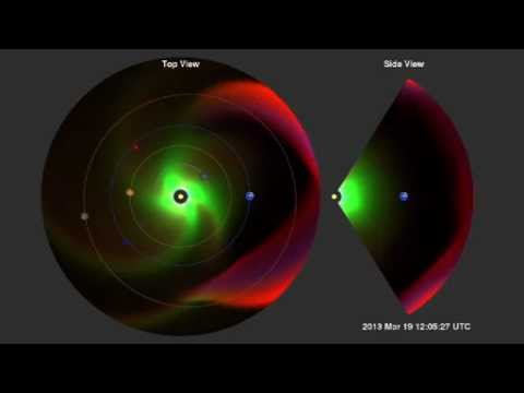 Earth's Magnetosphere Hit by Solar Blast - CME | NASA Space Science Video