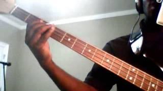David Oke (AGS) Bass Guitar tutorial-HALLEUJHAH by Lara George