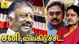 Deputy CM O Panneerselvam Latest Speech | TTV Dhinakaran | Sasikala