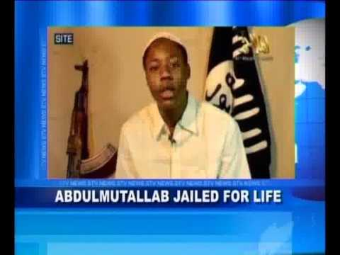 Abdulmutallab Jailed for Life