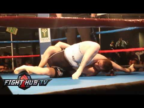 Marina Sharfir vs Nicole Upshaw Sharfirs pro debut