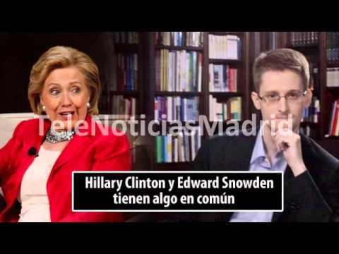 El hábito hotelero que comparten Hillary Clinton y Edward Snowden