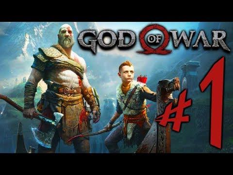 God of War (PS4) - Parte 1: Kratos e Atreus !!! [ Playstation 4 Pro - Playthrough ] thumbnail