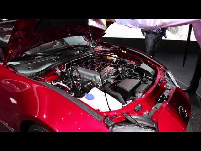 Mondial de l'Auto : David Barrière détaille la Mazda MX-5 ND