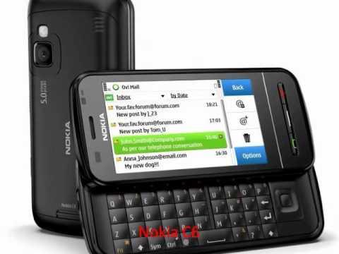 Nokia C6 VS Nokia 5800 XpressMusic