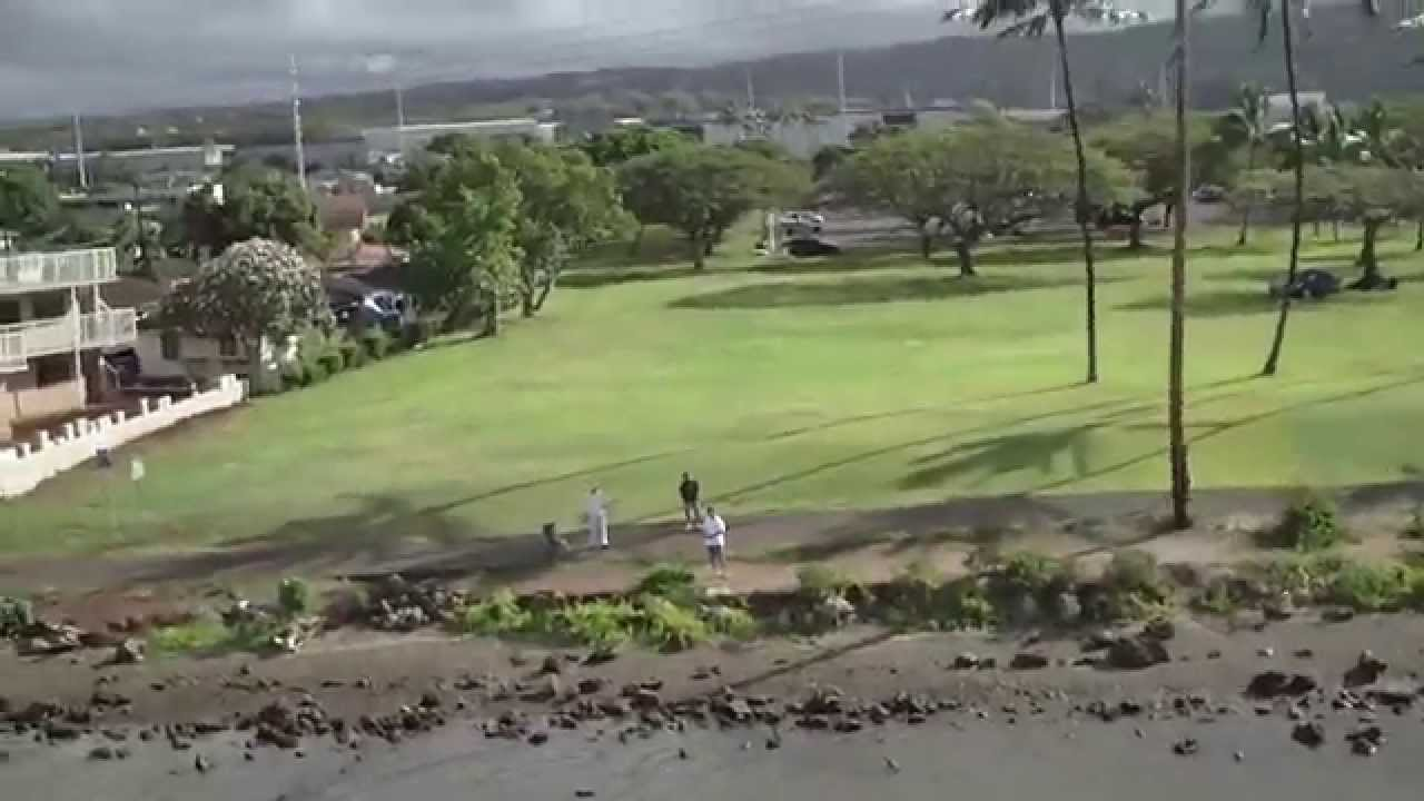 Helicam Over Neal S Blaisdell Park Pearl City Oahu Hawaii Youtube