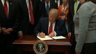 EPA head defends Trump order on water rules