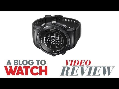 Epson ProSense 367 GPS Multisport Smartwatch Review | aBlogtoWatch