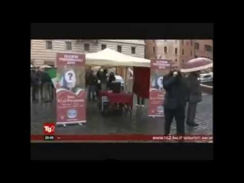 """Quirinale, Fratelli d'Italia in piazza: """"Vota il tuo Presidente"""""""