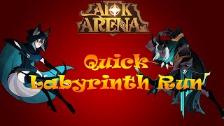 AFK Arena | Quick Labyrinth Run