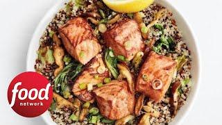 Teriyaki Salmon Quinoa Bowls | Food Network