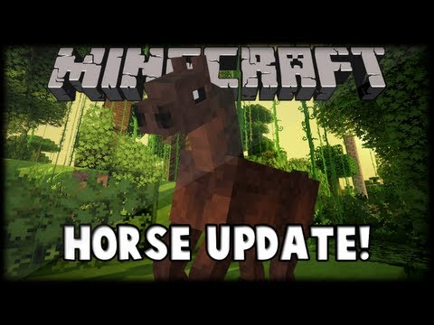 Minecraft Horse Update Review!