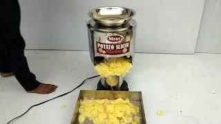 POTATO SLICER / POTATO CHIPS MACHINE