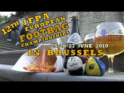 TEASER European Footbag Championships 2010 Brussels