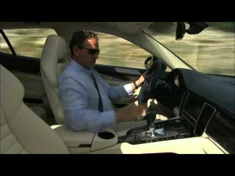 Driving new Porsche Panamera 4S 2010 Video