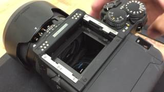 How To Install A Contax 645 Viewfinder Mask