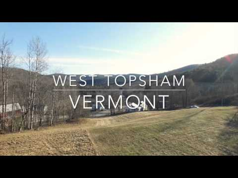 Topsham and West Topsham VT - Vermont From Above - Aerial Quadcopter