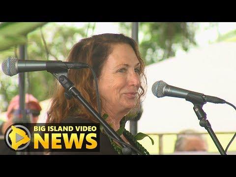 Teresa Shook Speaks At 2018 Hilo Womens March (Jan. 20, 2018)
