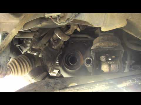Diy E46 Cv axle replacement, and front differential oil change