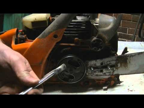 Husqvarna 455 Chainsaw sprocket repair